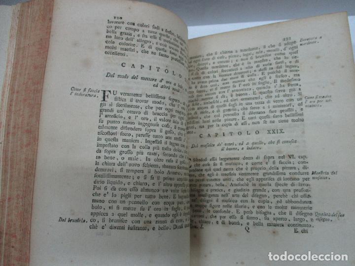Libros antiguos: VITE DE PIU ECCELLENTI PITTORI SCULTORI ED ARCHITETTI. - VASARI, Giorgio. 1770-1772. 7 VOLS. - Foto 5 - 109021730