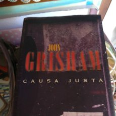 Libros antiguos: JOHN GRISHAM CAUSA JUSTA. Lote 112713751