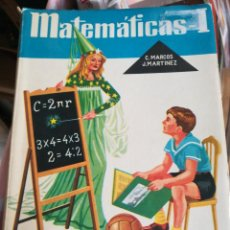 Libros antiguos: MATEMATICAS-I ARICMETICA Y GEOMETRIA EDICIONES S.M.. Lote 112715259