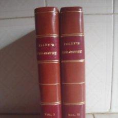 Libros antiguos: THE PRINCIPLES OF MORAL AND POLITICAL PHILOSOPHY. WILLIAM PALEY. R. FAULDER, 1791. 2 VOLÚMENES. . Lote 112761735