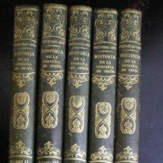 Libros antiguos: HISTORIA DE LA COMPAÑÍA DE JESÚS. CRETINEAU JOLI. 5 TOMOS. BARCELONA 1853. Lote 112781891