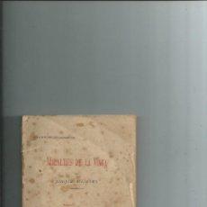 Libros antiguos: MALALTIES DE LA VINYA JOAQUIM AGUILERA1898. Lote 112788355