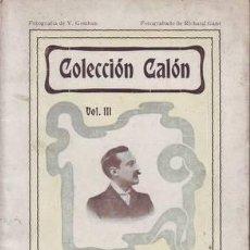 Libros antiguos: REAL Y RODRIGUEZ, CÉSAR: FRIVOLIDADES. PRÓLOGO DE M.R. BLANCO-BELMONTE. 1902. Lote 112828571