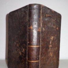 Libros antiguos: MANUAL DE PIADOSAS MEDITACIONES - AÑO 1766 - PLENA PIEL.. Lote 112869775