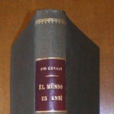 Libros antiguos: BAROJA, PÍO: EL MUNDO ES ANSI (LAS CIUDADES II). 1919. Lote 42166388