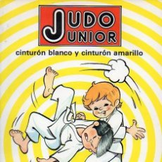 Libros antiguos: LIBRO JUDO JUNIOR. Lote 113014719