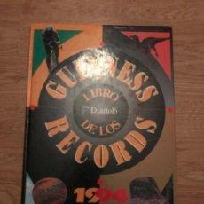 Libros antiguos: LIBRO GUINESS DE LOS RECORDS 1994.. Lote 113028479