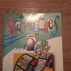 Libros antiguos: ANTIGUO CUADERNO DE REPASO DE VACACIONES 1991 EDEBE. Lote 113028759