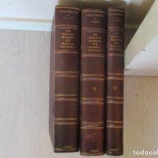 Libros antiguos: LES INSECTES NUISIBLES AUX PLANTES CULTIVÉES. DOS TOMOS EN TRES VOLÚMENES. RM85629. . Lote 113056023