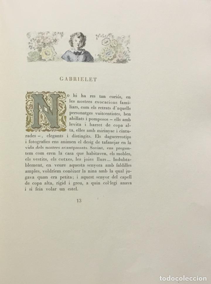 Libros antiguos: LA BARCELONA DELS NOSTRES AVIS. - ANGLADA, Lola. [Bibliofília.] - Foto 7 - 109023435