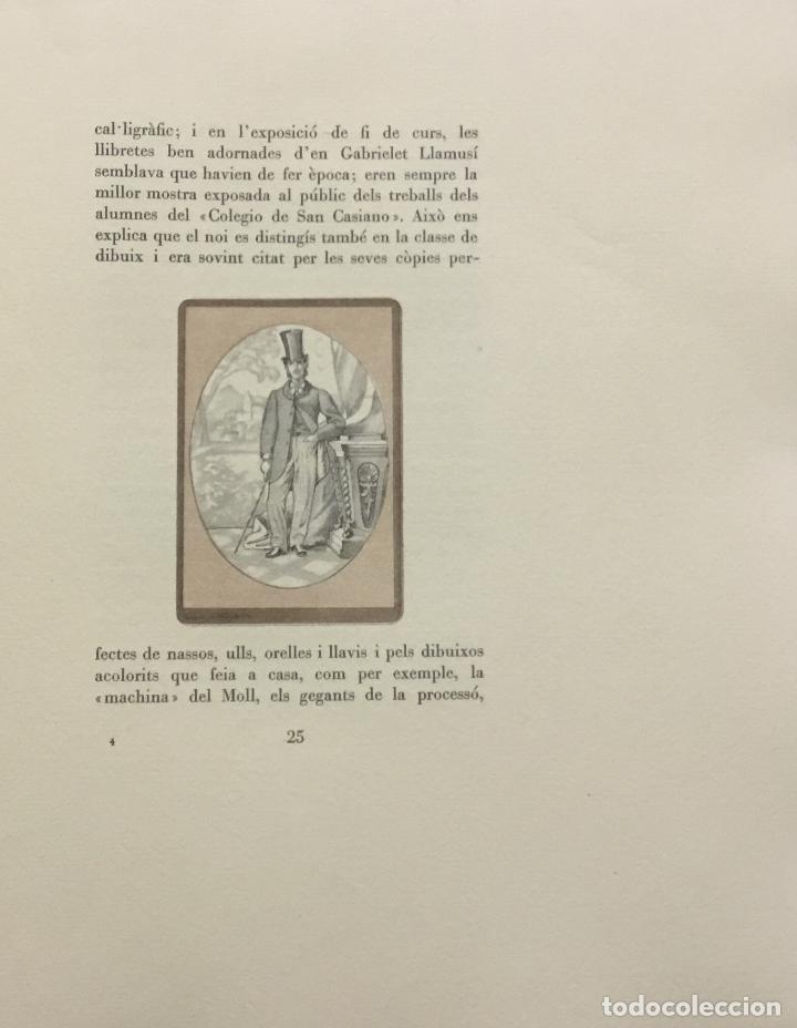 Libros antiguos: LA BARCELONA DELS NOSTRES AVIS. - ANGLADA, Lola. [Bibliofília.] - Foto 8 - 109023435