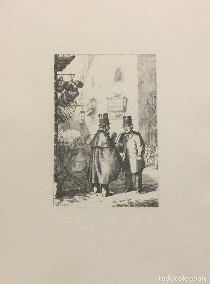 Libros antiguos: LA BARCELONA DELS NOSTRES AVIS. - ANGLADA, Lola. [Bibliofília.] - Foto 18 - 109023435