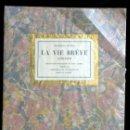 Libros antiguos: LA VIE BREVE ALMANACH - EUGENIO D'ORS - LITOGRAFIAS DE MARIANO ANDREU - LIMITADA Y NUMERADA - EJ.:58. Lote 113088195