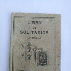 Libros antiguos: LIBRO DE SOLITARIOS H.FOURNIER 1931. Lote 113097443