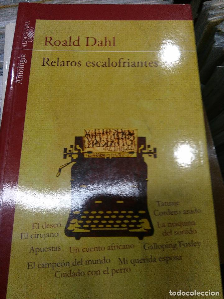 RELATOS ESCALOFRIANTES (Libros Antiguos, Raros y Curiosos - Historia - Otros)