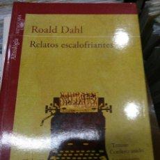 Libros antiguos: RELATOS ESCALOFRIANTES. Lote 113105663