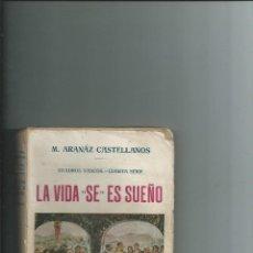 Libros antiguos: LA VIDA SE ES SUEÑO. CUADROS VASCOS. CUARTA SERIE. M. ARANAZ CASTELLANOS 1918. Lote 113125775
