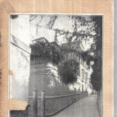 Libros antiguos: UN RECUERDO A WASHINGTON IRVING Y EL BARRIO DE SANTA CRUZ. JOSE ANDRES VAZQUEZ. SEVILLA 1925.. Lote 113139815