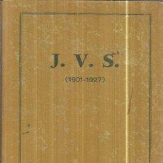 Libros antiguos: FERROCARRIL J. V. S. ( 1901-1927 ). MEMORIA POR AMALIO SAIZ DE BUSTAMANTE. 1928.. Lote 113155267