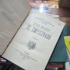 Livros antigos: LIBRO JUAN MARTÍN EL EMPECINADO B. PÉREZ GALDÓS 1921 HERNANDO L-809-929. Lote 113232987