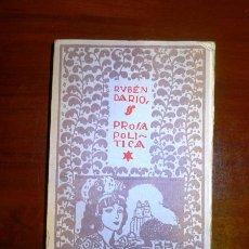 Libros antiguos: DARÍO, RUBÉN. PROSA POLÍTICA : (LAS REPÚBLICAS AMERICANAS) / ILUSTRACIONES DE ENRIQUE OCHOA. Lote 113241799