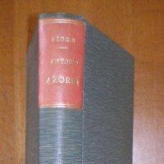 Libros antiguos: AZORIN: ANTONIO AZORIN. MADRID, RENACIMIENTO 1913. Lote 53275635