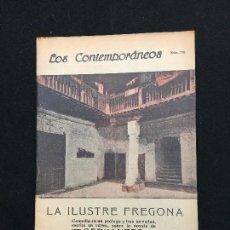 Libros antiguos: LOS CONTEMPORÁNEOS. AÑO XV. MADRID, 1923. Nº. 770. CERVANTES. LA ILUSTRE FREGONA. DIEGO SAN JOSÉ.. Lote 113354083