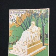 Libros antiguos: LOS CONTEMPORÁNEOS. AÑO XVI. MADRID, 1924. Nº. 825. BENITO PÉREZ GALDÓS. FORTUNATA Y JACINTA.. Lote 113355835