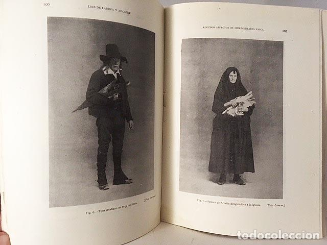 ETNOLOGÍA VI . (M. 1948) HUGO OBERMAIER; INDUMENTARIA VASCA; INDIOS CUAIQUERES; ETC. (Libros Antiguos, Raros y Curiosos - Ciencias, Manuales y Oficios - Otros)