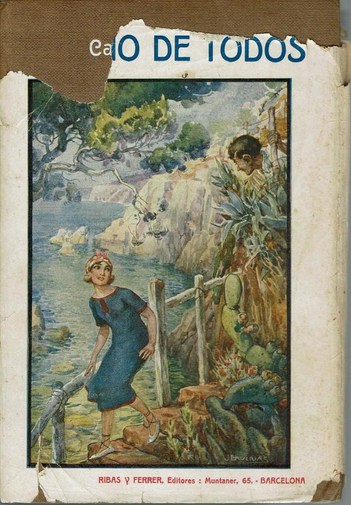 Libros antiguos: EL TÍO DE TODOS, POR CARMEN DE BURGOS (COLOMBINE). AÑO 1925. (4.3) - Foto 2 - 113403651