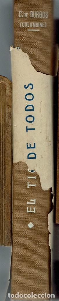 Libros antiguos: EL TÍO DE TODOS, POR CARMEN DE BURGOS (COLOMBINE). AÑO 1925. (4.3) - Foto 4 - 113403651