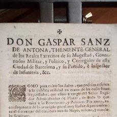 Libros antiguos: DON GASPAR SANZ DE ANTONA - 1740 - COMO PARA EVITAR LOS DAÑOS, QUE PODRIAN.... Lote 113412571