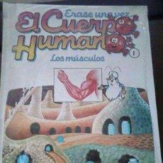 Libros antiguos: ERASE UNA VEZ EL CUERPO HUMANO. Lote 113447111