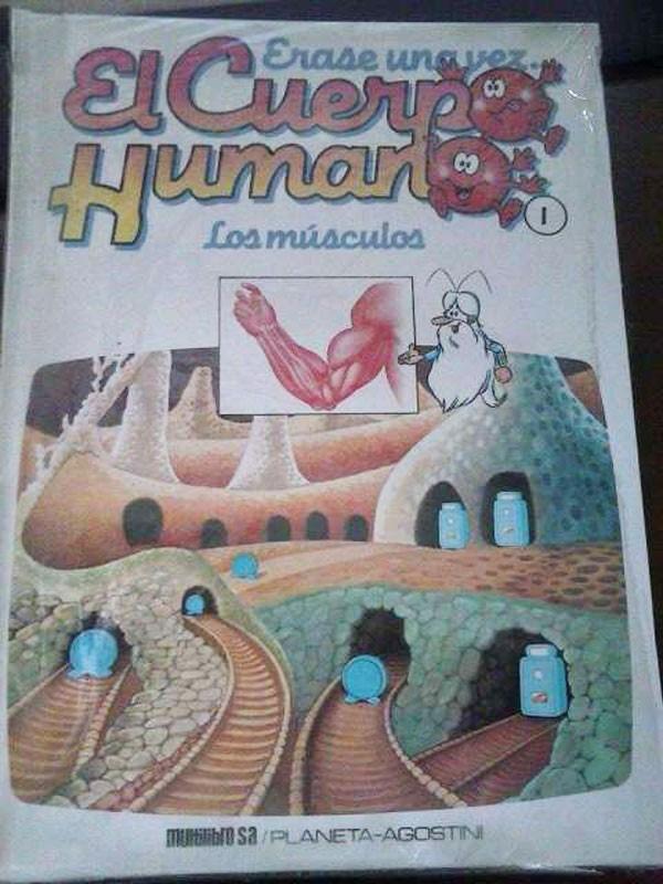 Libros antiguos: ERASE UNA VEZ EL CUERPO HUMANO - Foto 2 - 113447111