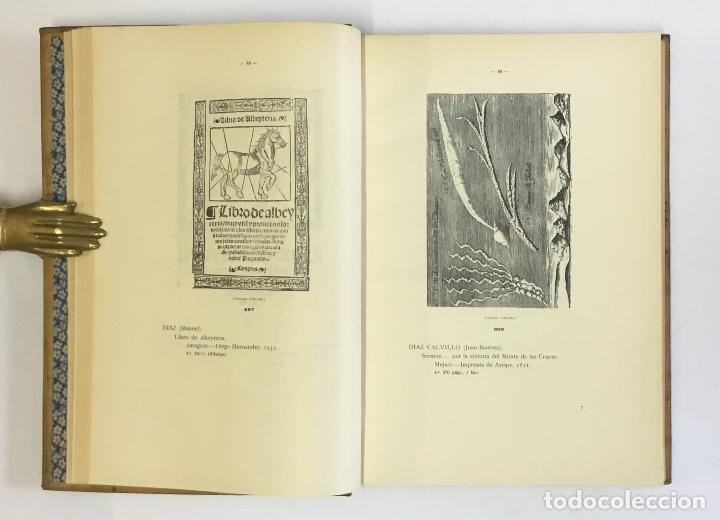 Libros antiguos: MANUAL GRÁFICO-DESCRIPTIVO DEL BIBLIÓFILO HISPANO-AMERICANO (1475-1850). - VINDEL, Francisco. - Foto 11 - 109022671
