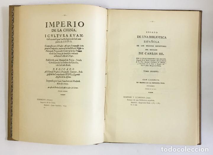 Libros antiguos: MANUAL GRÁFICO-DESCRIPTIVO DEL BIBLIÓFILO HISPANO-AMERICANO (1475-1850). - VINDEL, Francisco. - Foto 26 - 109022671