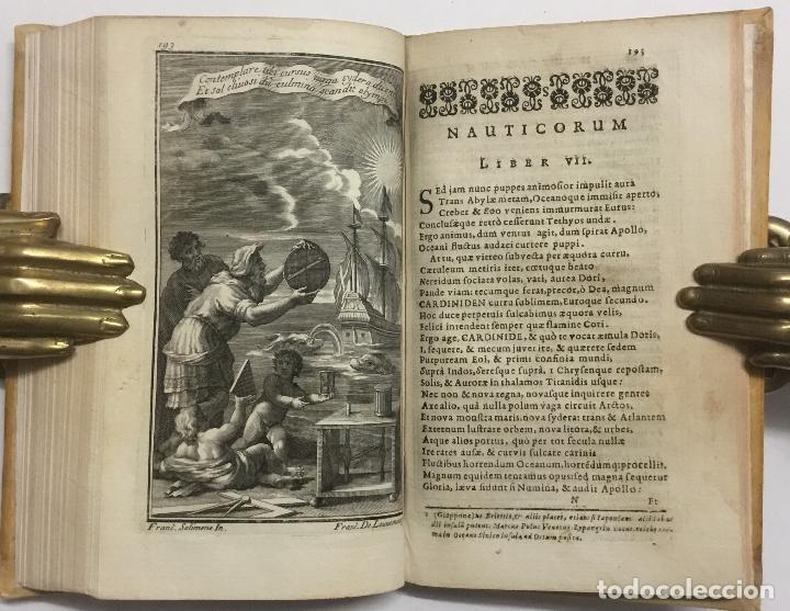 Libros antiguos: PISCATORIA, ET NAUTICA. - GIANNETTASIO, Niccolò Partenio. NÁPOLES, 1685. GRABADOS. - Foto 9 - 112435487