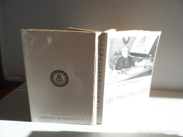 Libros antiguos: LAS NACIONALIDADES F PI Y MARGALL - Foto 2 - 113576271