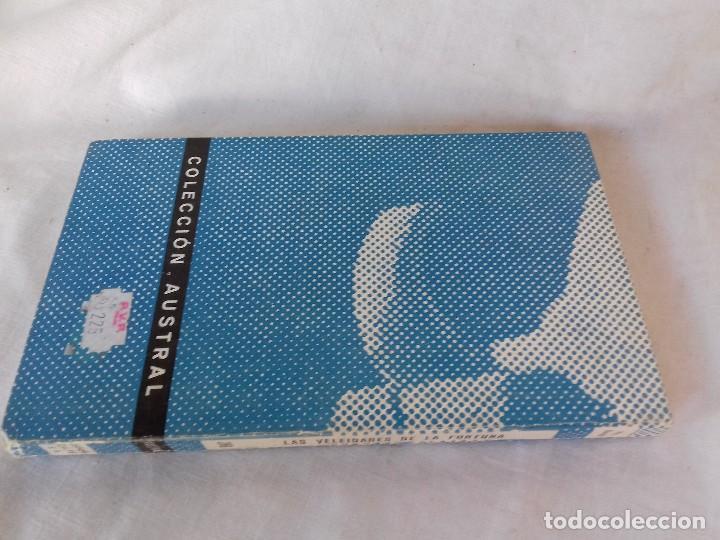 Libros antiguos: LAS VELEIDADES DE LA FORTUNA-PIO BAROJA-COLECCION AUSTRAL-ESPASA CALPE - Foto 2 - 113578755