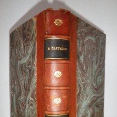 Libros antiguos: HISTORIA DEL DESCUBRIMIENTO DE AMERICA - AÑO 1892 - EMILIO CASTELAR·FIRMADO.. Lote 113670723