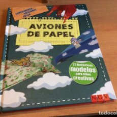 Libros antiguos: AVIONES DE PAPEL. #LIBRO DE MANUALIDADES . Lote 113679699