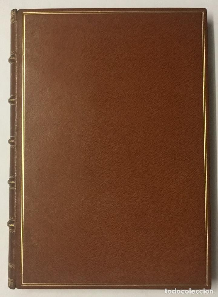 Libros antiguos: SILUETES EPIGRAMÀTIQUES. - ROIG I LLOP, Tomàs. [ Papel Japón] EDICION DE 15 EJEMPLARES. BIBLIOFILIA. - Foto 3 - 113686047