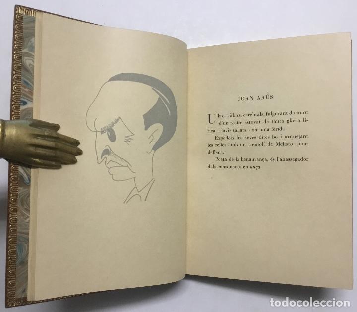 Libros antiguos: SILUETES EPIGRAMÀTIQUES. - ROIG I LLOP, Tomàs. [ Papel Japón] EDICION DE 15 EJEMPLARES. BIBLIOFILIA. - Foto 8 - 113686047