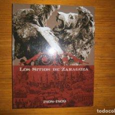 Libros antiguos: LOS SITIOS DE ZARAGOZA BUEN ESTADO. Lote 113701831