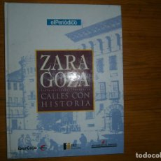 Libros antiguos: ZARAGOZA. Lote 113703943