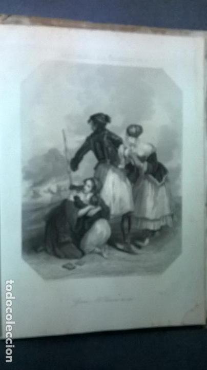 Libros antiguos: Libro.Costumbres del universo.Contiene 18 grabados al acero.Medida 28x38.Año 1864.423 pg - Foto 2 - 113724443