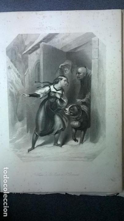 Libros antiguos: Libro.Costumbres del universo.Contiene 18 grabados al acero.Medida 28x38.Año 1864.423 pg - Foto 9 - 113724443