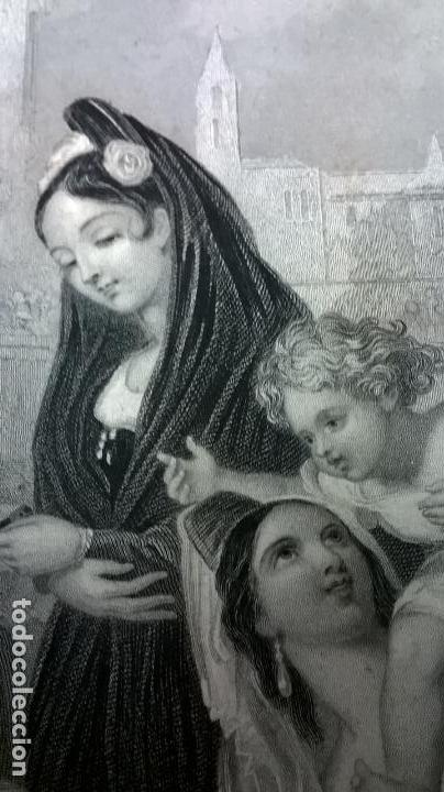 Libros antiguos: Libro.Costumbres del universo.Contiene 18 grabados al acero.Medida 28x38.Año 1864.423 pg - Foto 21 - 113724443