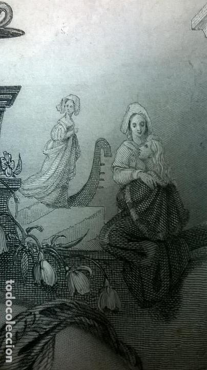 Libros antiguos: Libro.Costumbres del universo.Contiene 18 grabados al acero.Medida 28x38.Año 1864.423 pg - Foto 27 - 113724443