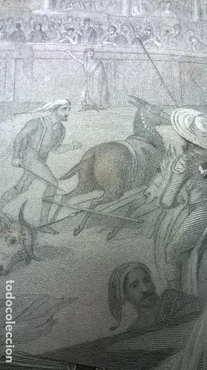 Libros antiguos: Libro.Costumbres del universo.Contiene 18 grabados al acero.Medida 28x38.Año 1864.423 pg - Foto 31 - 113724443
